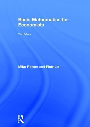 9780415485913: Basic Mathematics for Economists