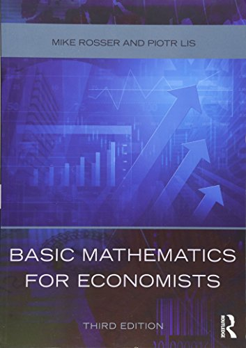 9780415485920: Basic Mathematics for Economists