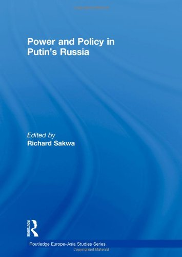 9780415486323: Power and Policy in Putin's Russia (Routledge Europe-Asia Studies)