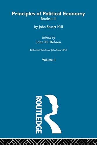 9780415487498: Principles of Political Economy (Volume Two): II. Principles of Political Economy Vol a: 2