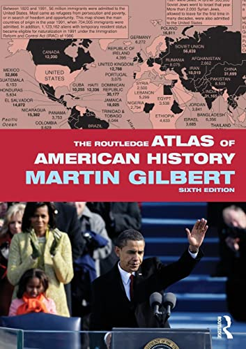 9780415488396: The Routledge Atlas of American History (Routledge Historical Atlases)