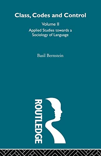 9780415488587: Applied Studies Towards a Sociology of Language: 2