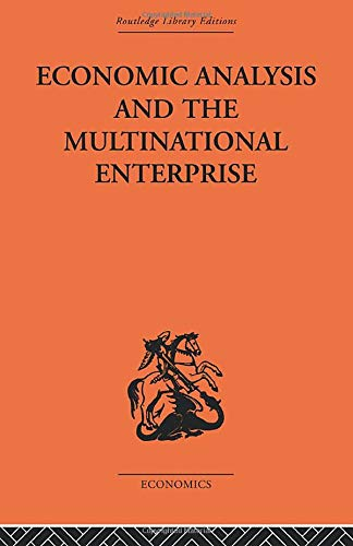 9780415488877: Economic Analysis and Multinational Enterprise
