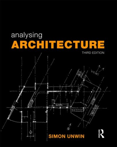 9780415489287: Analysing Architecture: Volume 1