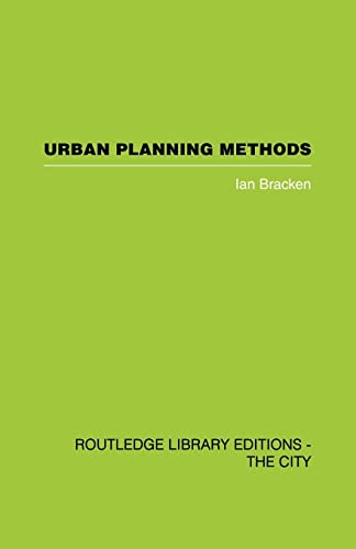 9780415489591: Urban Planning Methods: Research and Policy Analysis (Routledge Library Editions. the City)