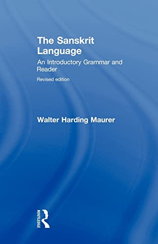 9780415491433: The Sanskrit Language: An Introductory Grammar and Reader Revised Edition (v. 1 & 2)