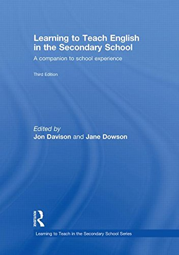 9780415491655: Learning to Teach English in the Secondary School: A Companion to School Experience (Learning to Teach Subjects in the Secondary School Series)
