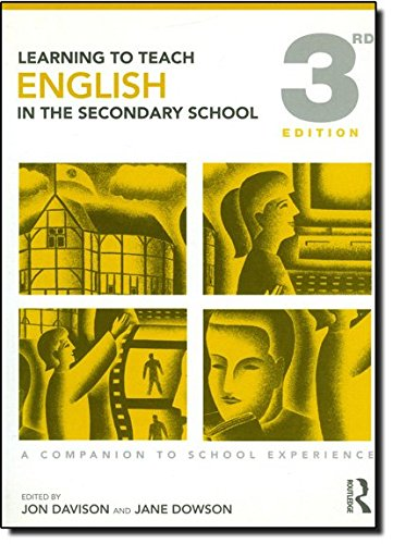 9780415491662: Learning to Teach English in the Secondary School: A Companion to School Experience (Learning to Teach Subjects in the Secondary School Series) (Volume 1)
