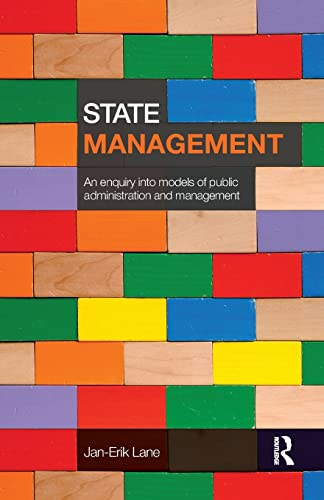 9780415492355: State Management: An Enquiry into Models of Public Administration & Management