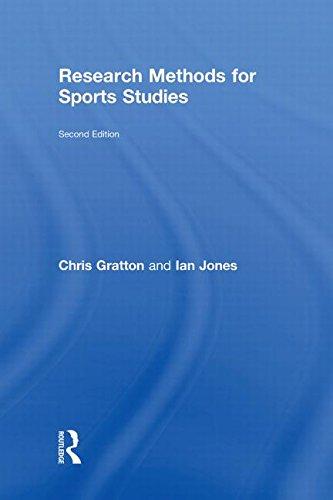Research Methods for Sports Studies: Chris Gratton; Ian