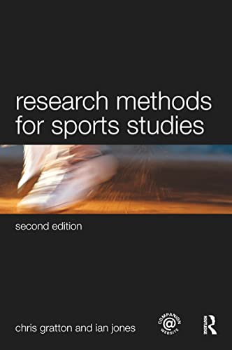 9780415493932: Research Methods for Sports Studies (Volume 1)