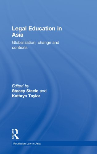 9780415494335: Legal Education in Asia: Globalization, Change and Contexts (Routledge Law in Asia)