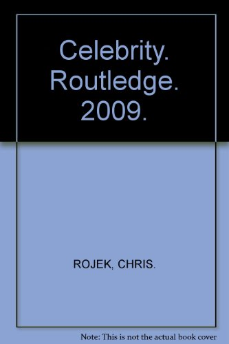 9780415494663: Celebrity (Critical Concepts in Sociology)