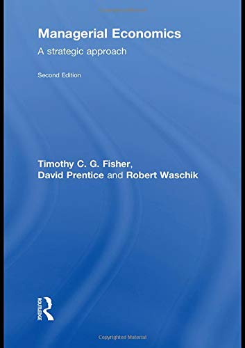 9780415495097: Managerial Economics, Second Edition: A Strategic Approach