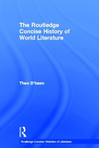 9780415495882: The Routledge Concise History of World Literature