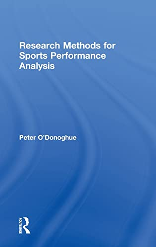 9780415496223: Research Methods for Sports Performance Analysis
