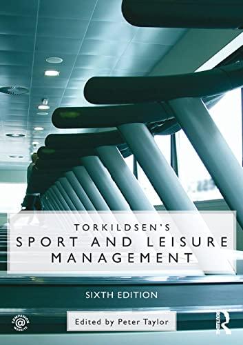 9780415497930: Torkildsen's Sport and Leisure Management