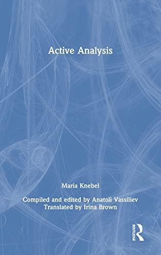 9780415498524: Active Analysis
