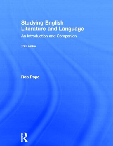 9780415498777: Studying English Literature and Language: An Introduction and Companion