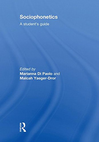 9780415498784: Sociophonetics: A Student's Guide