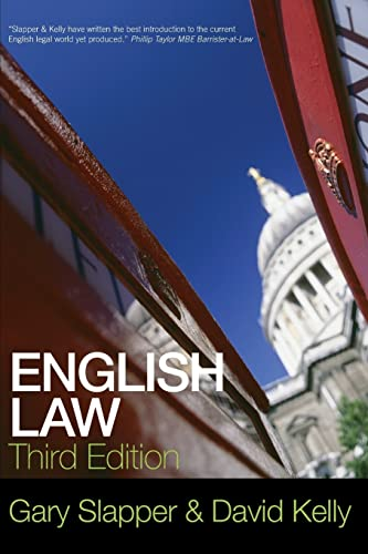 9780415499514: English Law