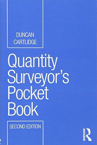 9780415501101: Quantity Surveyor's Pocket Book