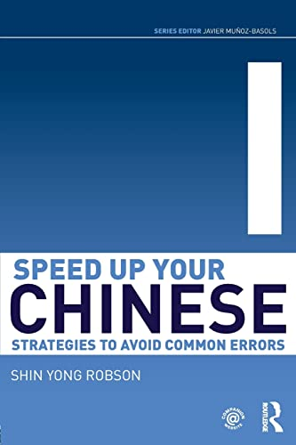 9780415501521: Speed Up Your Chinese: Strategies to Avoid Common Errors (Speed Up Your Language Skills)