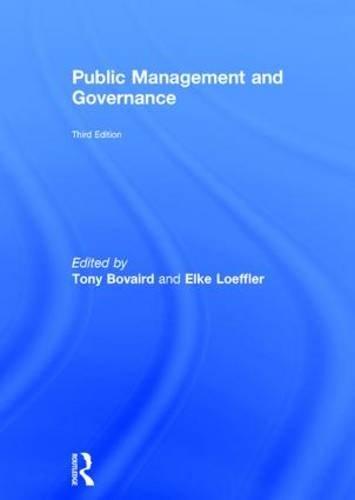 Public Management and Governance: Routledge