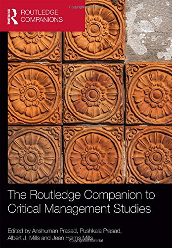 9780415501880: The Routledge Companion to Critical Management Studies (Routledge Companions in Business, Management and Accounting)