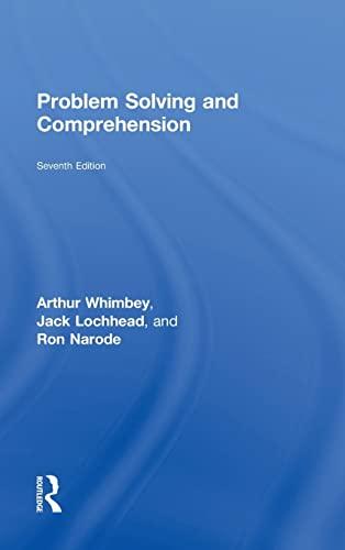 9780415502214: Problem Solving and Comprehension