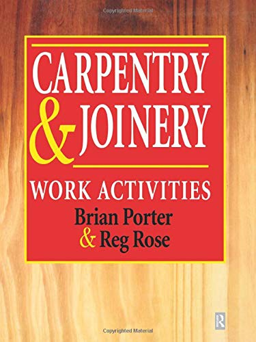 9780415502856: Carpentry and Joinery: Work Activities