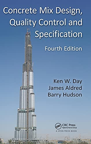 9780415504997: Concrete Mix Design, Quality Control and Specification, Fourth Edition