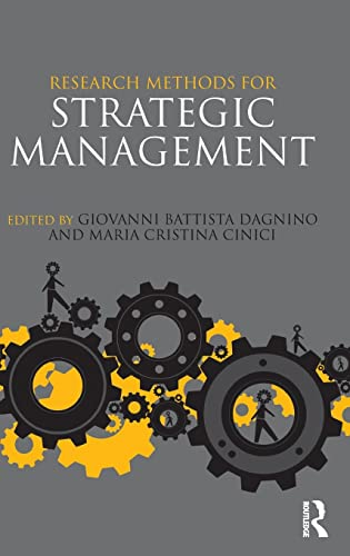 9780415506205: Research Methods for Strategic Management