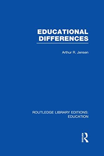 Educational Differences (RLE Edu L): Arthur Jensen