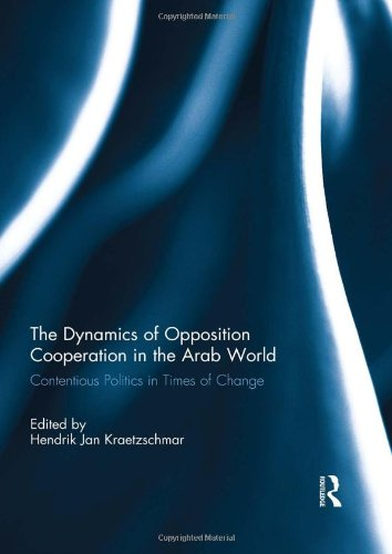 9780415506380: The Dynamics of Opposition Cooperation in the Arab World: Contentious Politics in Times of Change