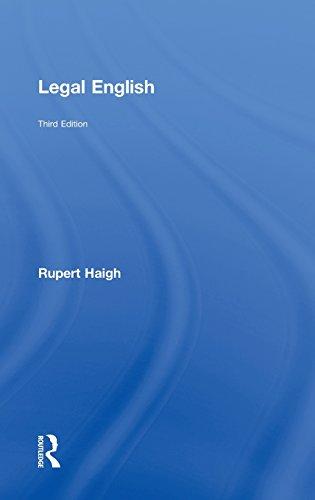 9780415506694: Legal English