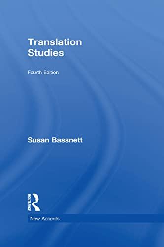 9780415506700: New Accents: Translation Studies (Volume 38)