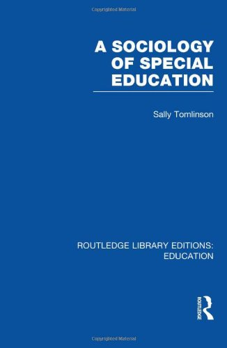 9780415506939: A Sociology of Special Education (RLE Edu M)