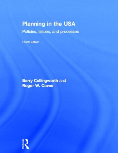 9780415506960: Planning in the USA: Policies, Issues, and Processes