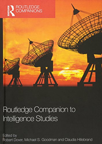 9780415507523: Routledge Companion to Intelligence Studies (Routledge Companions)