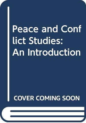 9780415509176: Peace and Conflict Studies: An Introduction