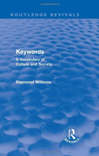 9780415509190: Keywords (Routledge Revivals): A Vocabulary of Culture and Society