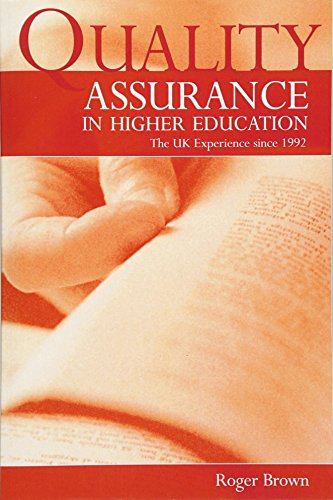 9780415511346: Quality Assurance in Higher Education: The UK Experience Since 1992