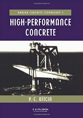 9780415512077: High Performance Concrete (Modern Concrete Technology)