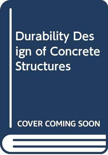 9780415512213: Durability Design of Concrete Structures