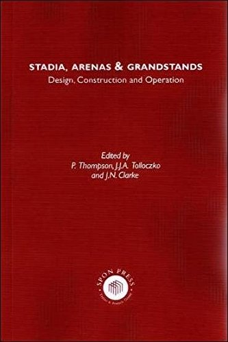 9780415512343: Stadia Arenas and Grandstands: Design, Construction and Operation