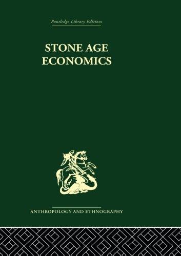 9780415513975: Stone Age Economics
