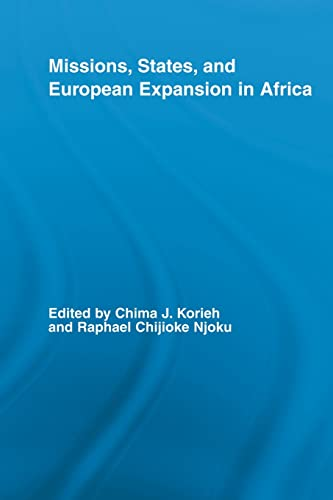 9780415514699: Missions, States, and European Expansion in Africa (African Studies)