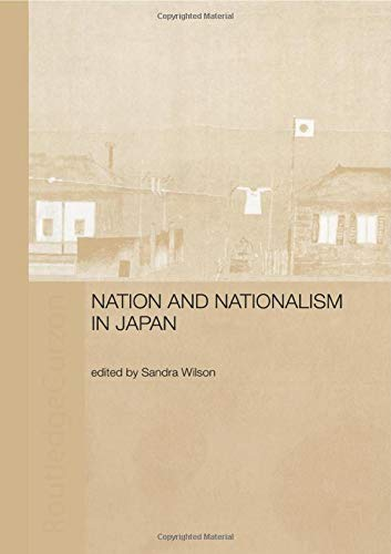 9780415515337: Nation and Nationalism in Japan