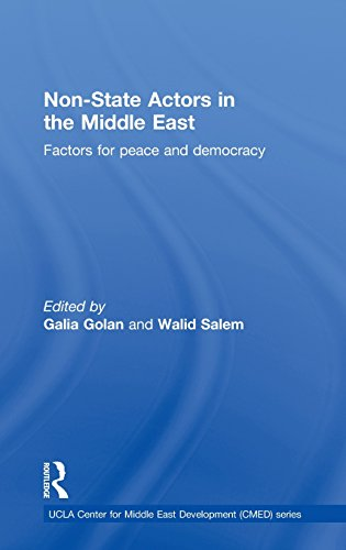 9780415517041: Non-State Actors in the Middle East: Factors for Peace and Democracy